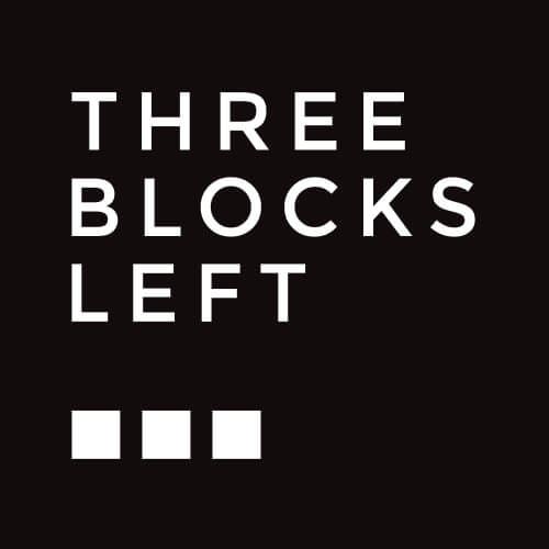 Three Blocks Left Design
